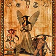 Tarot Card Judgement Art Print