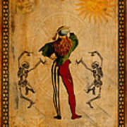 Tarot Card The Fool Art Print