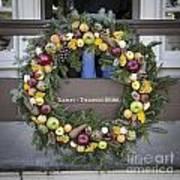Tarpley Thompson Store Wreath Art Print