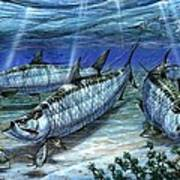 Tarpon In Paradise - Sabalo Print by Terry Fox
