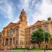 Tarrant County Courthouse II Art Print