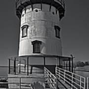 Tarrytown Lighthouse Bw Art Print