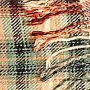 Tartan Scarf Art Print