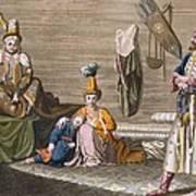 Tashkent Inhabitants In A Typical Art Print