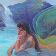 Tatoo Fairy Art Print by Gwen Carroll