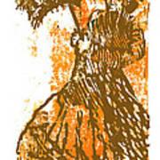 Tattered Parasol Art Print