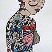 Tattoo Chic Original Art Print