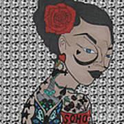 Tattoo Chic Pattern Art Print