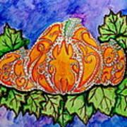 Tattoo Pumpkin Patch Art Print