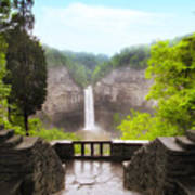 Taughannock Falls Art Print by Jessica Jenney
