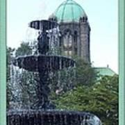 Taunton Landmarks Art Print