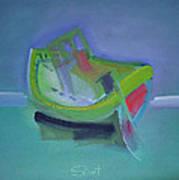 Tavira Fishing Boat Abandoned Art Print
