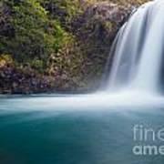 Tawhai Falls In Tongariro Np New Zealand Art Print