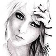 Taylor Momsen Art Print