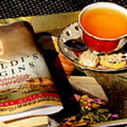 Tea And A Read Art Print