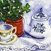 Tea For Nancy Art Print