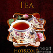 Tea Gallery Art Print