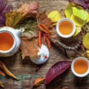 Tea Of September Art Print