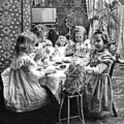 Tea Party, C1902 Art Print