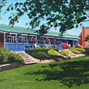Tea Rooms At The Peoples Park Art Print