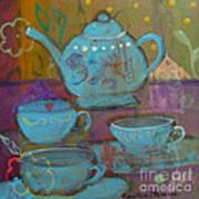Tea Spot Art Print
