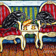 Tea Time Art Print by Jay  Schmetz
