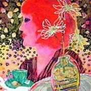 Teabag Art Print by Diane Fine