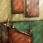 Teacher - The Teachers Desk Art Print