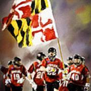 Team Maryland  Art Print