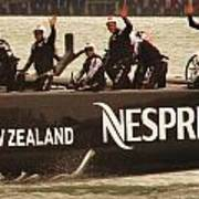 Team New Zealand Art Print