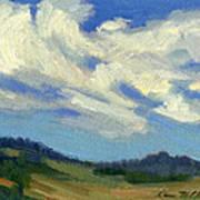 Teanaway Passing Clouds Art Print