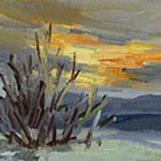 Teanaway Valley Winter Art Print
