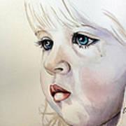 Tear Stains Art Print