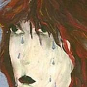 Tear Art Print