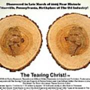 Tearing Christ - Discovery Art Print