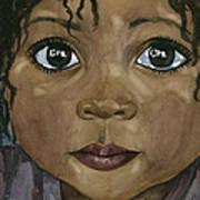 Ebony's Tears Art Print