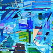 Techno Cool Art Print