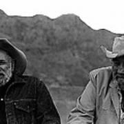 Ted Degrazia And Broderick Crawford Gallery In The Sun Tucson Arizona 3-1969-2009   Art Print