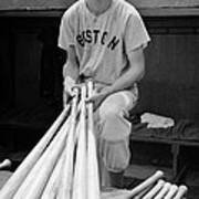 Ted Williams Print by Gianfranco Weiss