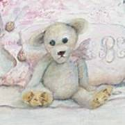 Teddy Friend Art Print