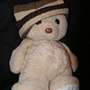 Teddy Wants To Hug You Print by Catherine Ali