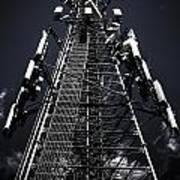 Telecommunications Tower Art Print