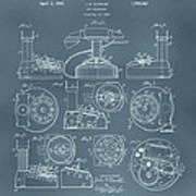 Telephone Patent Art Print
