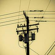 Telephone Pole 4 Art Print