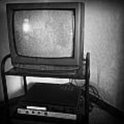 Television And Recorder Art Print