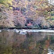Tellico River In Fall Art Print