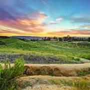 Temecula Hills Sunset Art Print
