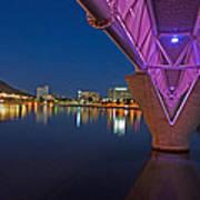 Tempe Light Rail Bridge Art Print