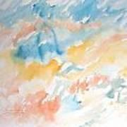 Tempest-tossed Waves Art Print