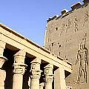 Temple At Philae In Egypt Art Print